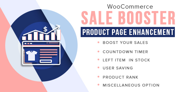 Woocommerce Sale Booster - Product Page Enhancement