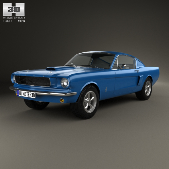 Ford Mustang Fastback 1965 - 3DOcean Item for Sale
