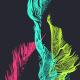 Colorful Strings Vj Loop V17 - VideoHive Item for Sale
