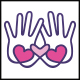 Love Charity Hands Logo - GraphicRiver Item for Sale