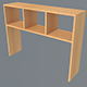 Table shelf 2 - 3DOcean Item for Sale