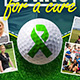 4x6 Charity Golf Tournament Flyer and Matching Event Facebook Cover