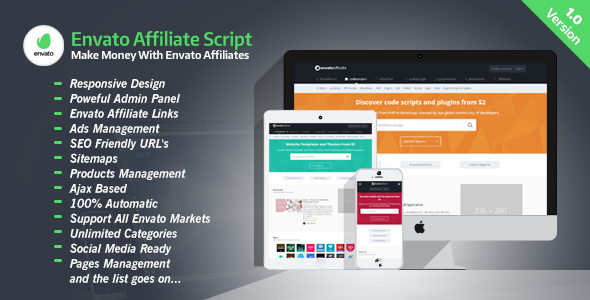 CodeCanyon Envato Affiliate Script 20174432