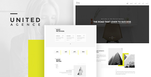 UNITED - Creative Multipurpose WordPress Theme