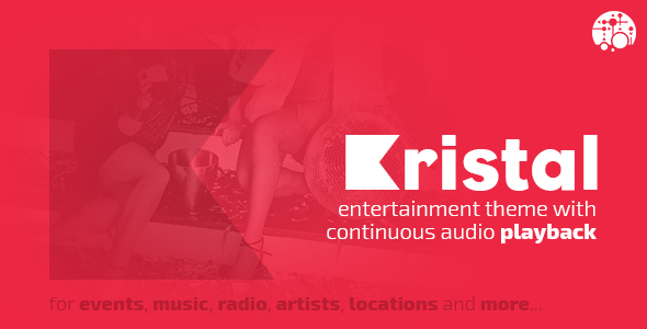 Kristal - Feel The Vibe Entertainment WordPress Theme