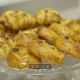 Process of Putting Pastry with Raisins on Pastries Glass Serving Plate - VideoHive Item for Sale