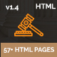 Lawzone- Law Firm, Lawyer and Attorney Responsive HTML5 Template Nulled