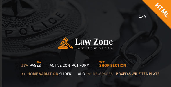 Lawzone- Law Firm, Lawyer and Attorney Responsive HTML5 Template - Business Corporate
