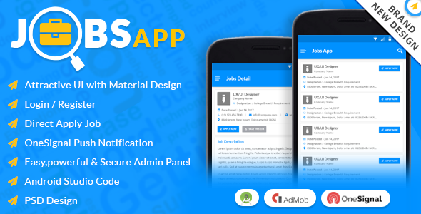 Jobs App - CodeCanyon Item for Sale