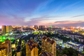 jiujiang cityscape in sunset - PhotoDune Item for Sale