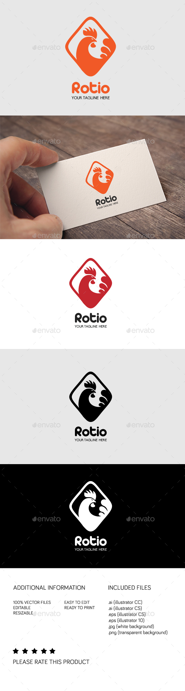 Rotio - Animals Logo Templates
