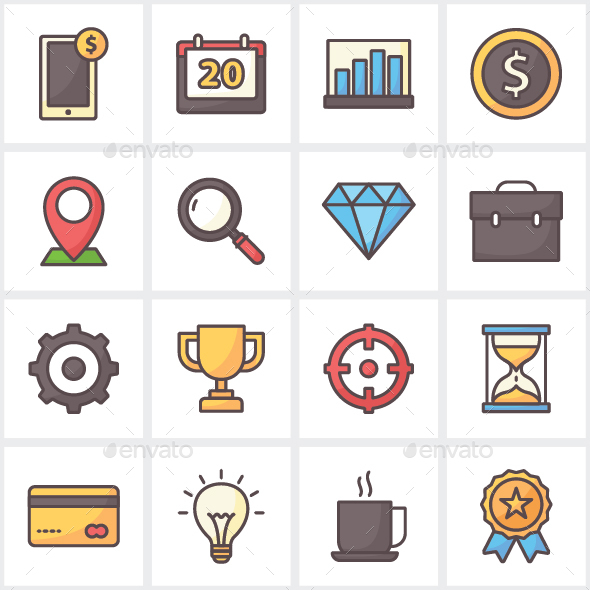 Business Icon Pack - Business Icons