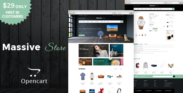Massive - Multipurpose OpenCart Theme