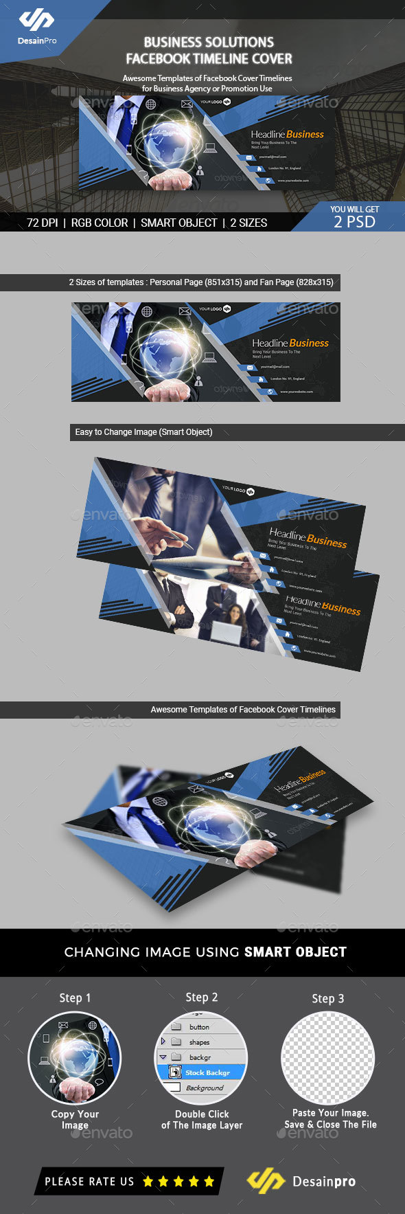 Business Services Facebook Timeline Cover - AR - Facebook Timeline Covers Social Media