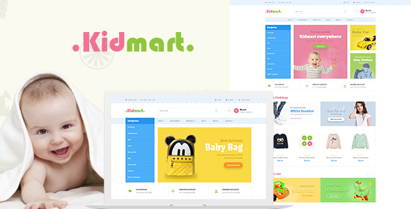Image of Kid Mart - Responsive Multiple Purpose