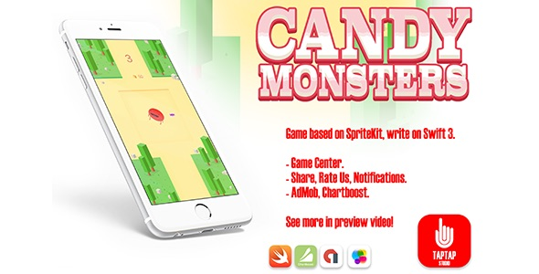 Candy Monsters - CodeCanyon Item for Sale