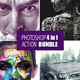 Photoshop 4in1 Actions Bundle - GraphicRiver Item for Sale