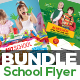 Junior School Admission Flyer Bundle - GraphicRiver Item for Sale