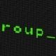 Hacker Code Running Down a Computer Screen Terminal