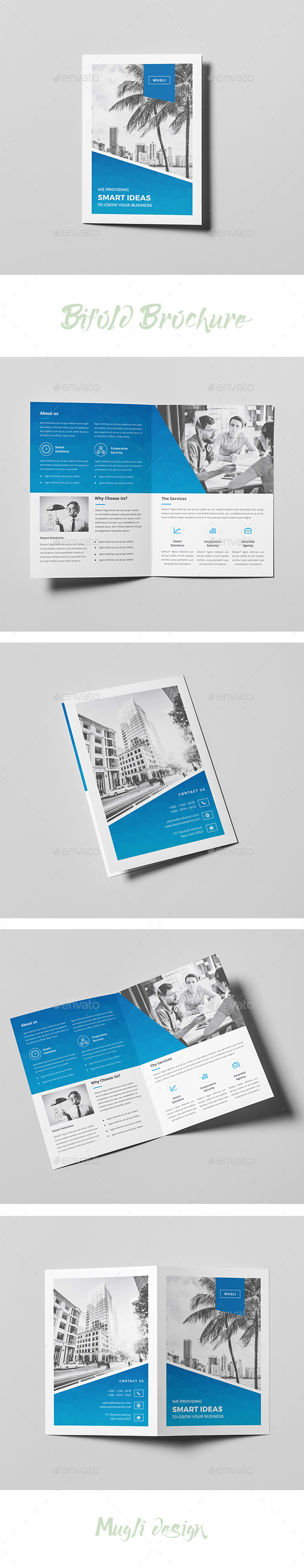 Bifold Brochure - Corporate Brochures