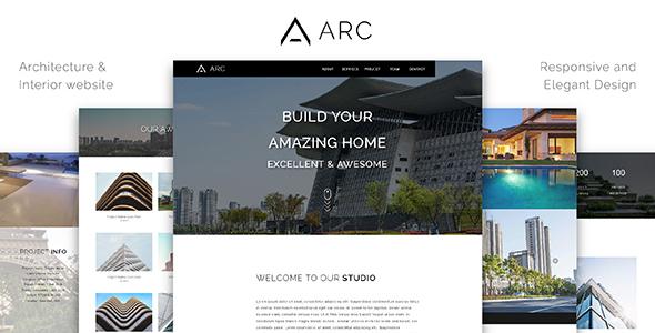 ARC_Architecture / Interior / Construction HTML Template