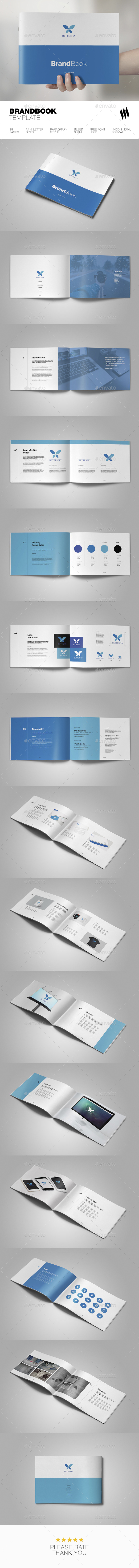 Betterfly Brandbook - Brochures Print Templates