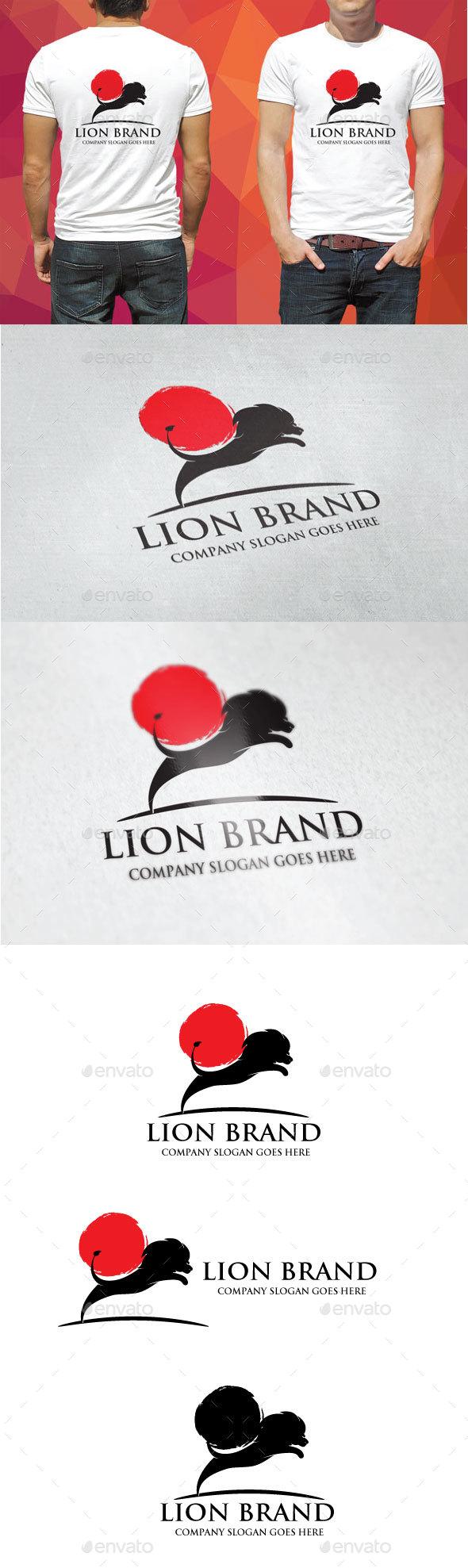 Lion Brand Logo - Animals Logo Templates
