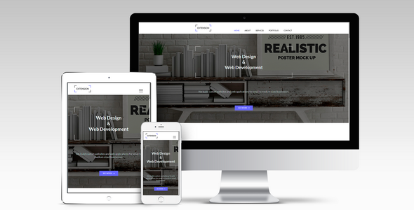 Extension - Responsive Muse Template