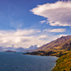 Mountain range and lake view from Bennetts Bluff, New Zealand - PhotoDune Item for Sale