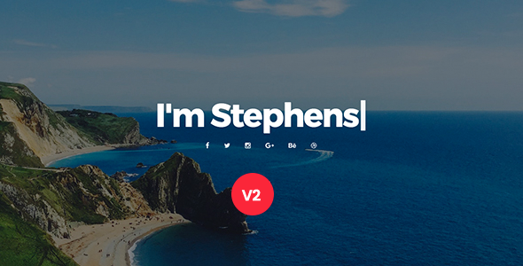 Personal Portfolio Template – Stephens