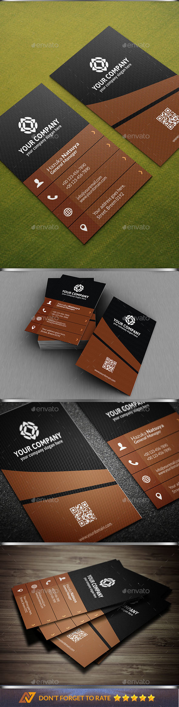 Modern Corporate Business Card Vol. 3 - Business Cards Print Templates