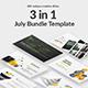July Bundle Keynote Template Nulled