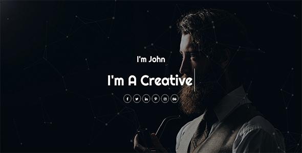 Se7en - Personal Portfolio HTML Template