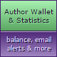 Author Wallet and Statistics