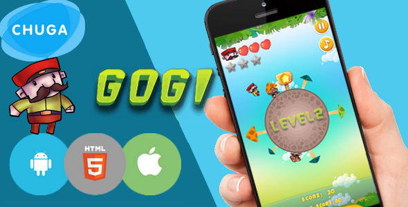 Gogi adventure 2017-HTML5 game, capx