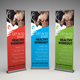 Fitness Gym Roll-up Banner - GraphicRiver Item for Sale