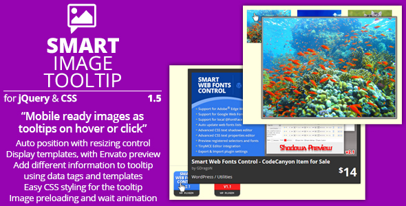 Smart Image Tooltip - Preview Image