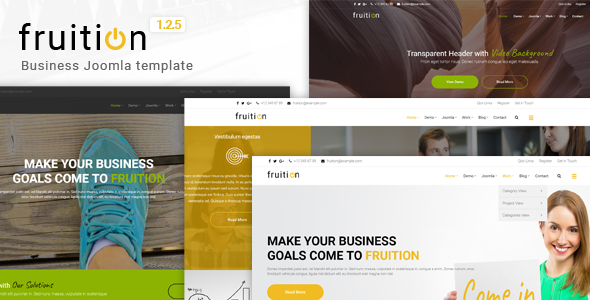 Fruition - Business Joomla Template