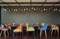Table and chairs in a cafe - PhotoDune Item for Sale