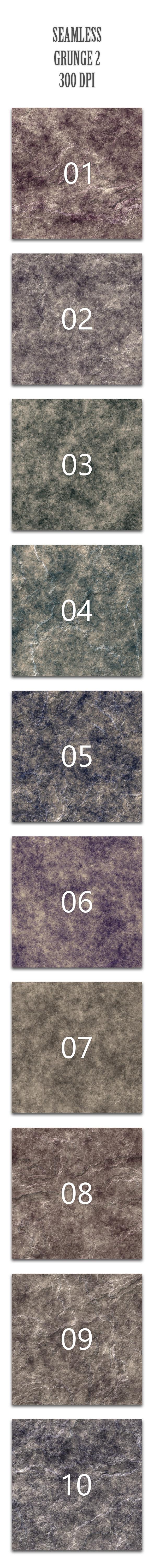 Seamless Grunge 2 - Textures / Fills / Patterns Photoshop