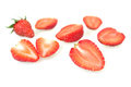 Strawberry isolated on white - PhotoDune Item for Sale