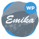 Emika - Personal WordPress Blog Theme Nulled