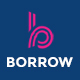Borrow - Loan Company Responsive Website Templates Nulled
