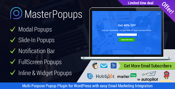 Popup Plugin for WordPress - Popup Press - Popups Slider & Lightbox - 23