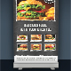 Food Roll-up Banner 3 - GraphicRiver Item for Sale