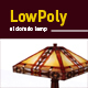 Lowpoly 3D el-dorado lamp model - 3DOcean Item for Sale