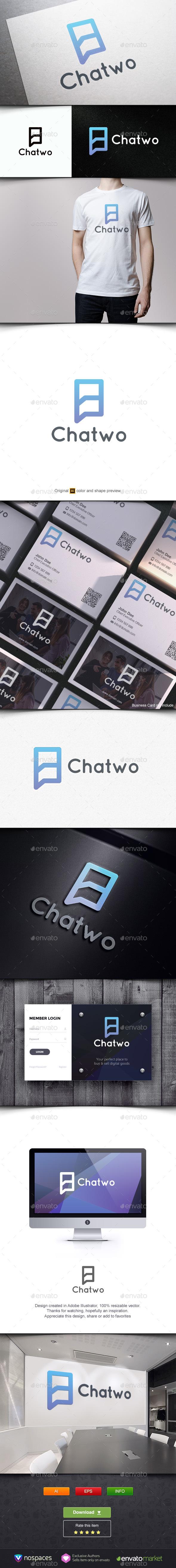 Chatwo - Symbols Logo Templates