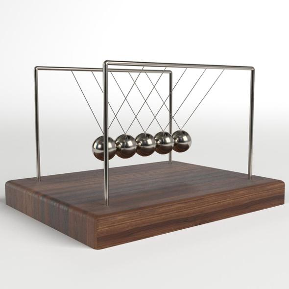 Newton's Cradle 2 - 3DOcean Item for Sale