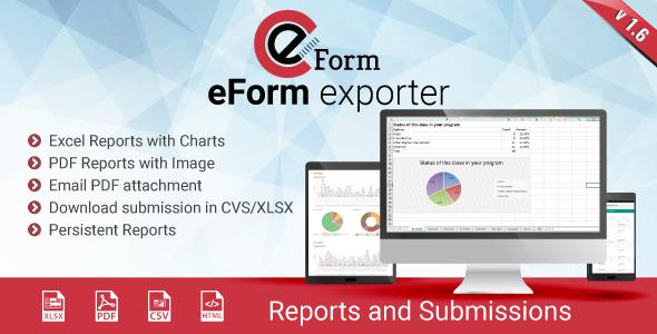 Exporter for eForm – Reports & Submissions – Premium Script