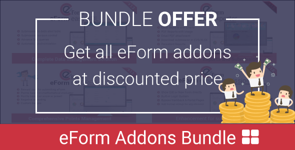 Add-on Bundle for eForm WordPress Form Builder - CodeCanyon Item for Sale